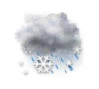 dážď so snehom