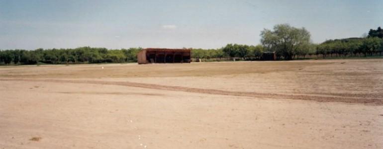 Kryté odpalisko (pohľad od cesty)