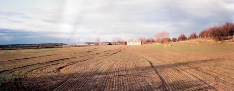 Driving range (pohľad od lesa)